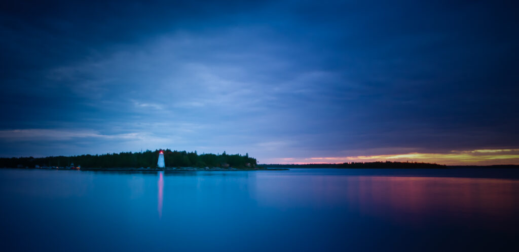 Sunset in Tobermory, Bruce Peninsula - Alessandro Cancian Photography