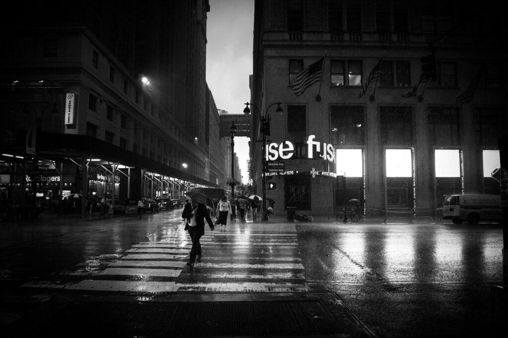 Thunderstorm in Madison Square, NY - Alessandro Cancian Photography